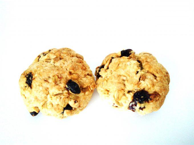米油で作るスコーンレシピ【ラムレーズンとホワイトチョコとオートミール】