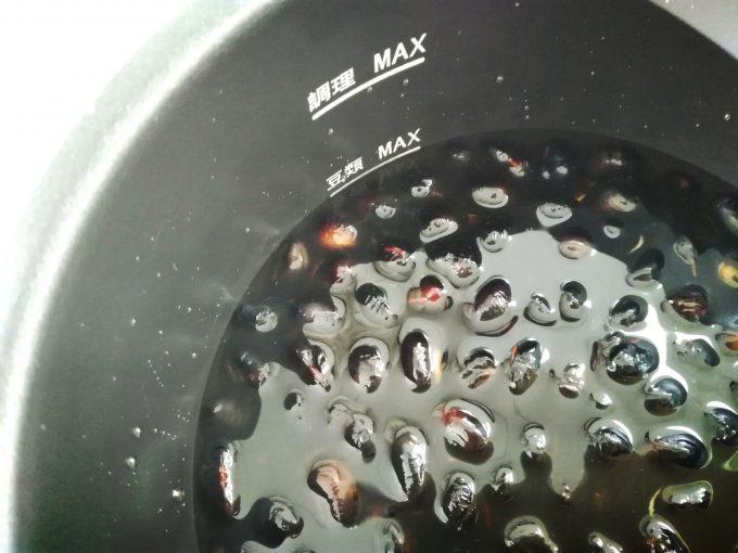圧力式電気鍋 APC-T19黒豆