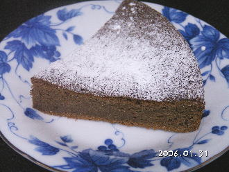 手作りチョコレートレシピ【ガトー・ショコラ  バターあり】
