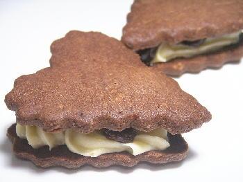 手作りチョコレートレシピ【ココア生地のレーズンウイッチ】