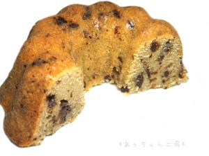 手作りチョコレートレシピ【ミニクグロフチョコケーキ】