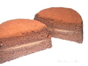 手作りチョコレートケーキレシピ【ミニガナッシュケーキ】
