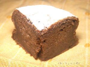 手作りチョコレートケーキレシピ【黒砂糖のガトーショコラ バターなし】