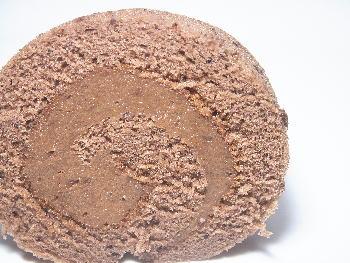 手作りチョコレートレシピ【チョコレートロールケーキ】