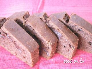 チョコレート手作りレシピ【ココアのパウンドケーキ】