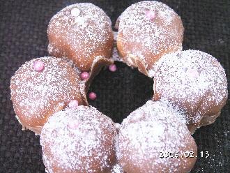 手作りチョコレートレシピ【マシュマロリングチョコレート】