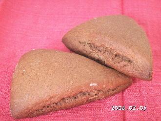 手作りチョコレートレシピ【チョコレートスコーン】