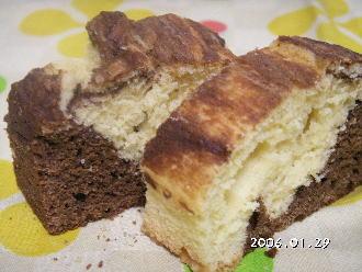 手作りチョコレートレシピ【チョコレートハーフパウンドケーキ】