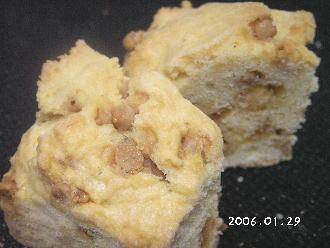 手作りチョコレートレシピ【キャラメルチョコチップパウンドケーキ】